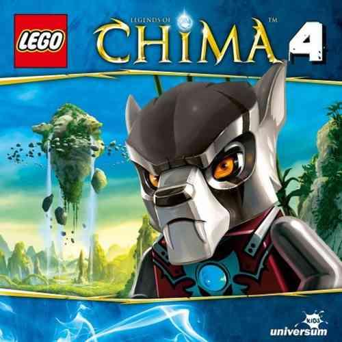 LEGO ® Legends of Chima Hörspiel CD 004  4 Gorillas außer Rand und Band  Universum Kids NEU & OVP
