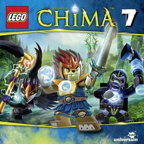 LEGO ® Legends of Chima Hörspiel CD 007  7 Die schwarze Wolke  Universum Kids NEU & OVP