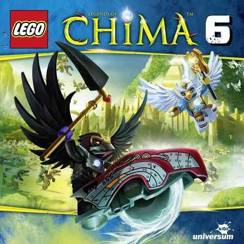 LEGO ® Legends of Chima Hörspiel CD 006  6 Diebische Raben  Universum Kids NEU & OVP