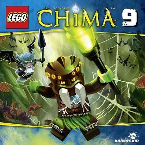 LEGO ® Legends of Chima Hörspiel CD 009  9 Schlafwandelnde Bären  Universum Kids NEU & OVP