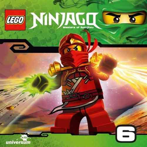 LEGO ® Ninjago Masters of Spinjitzu Hörspiel CD 006  6 Die falschen Ninja  Universum Kids NEU & OVP