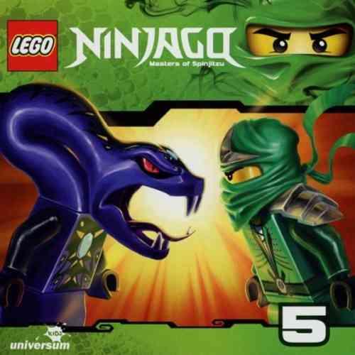 LEGO ® Ninjago Masters of Spinjitzu Hörspiel CD 005  5 Rettung in letzter Sekunde Universum Kids NEU