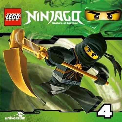 LEGO ® Ninjago Masters of Spinjitzu Hörspiel CD 004  4 Der grüne Ninja  Universum Kids NEU & OVP