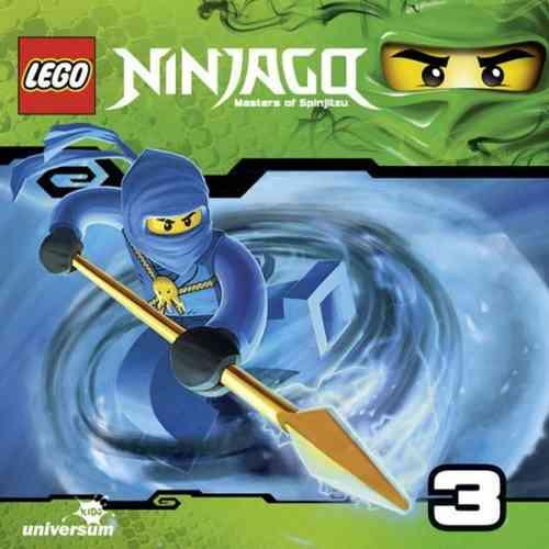 LEGO ® Ninjago Masters of Spinjitzu Hörspiel CD 003  3 Tick Tock  Universum Kids NEU & OVP