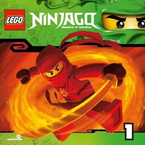 LEGO ® Ninjago Masters of Spinjitzu Hörspiel CD 001  1 Der Aufstieg der Schlange Universum Kids NEU