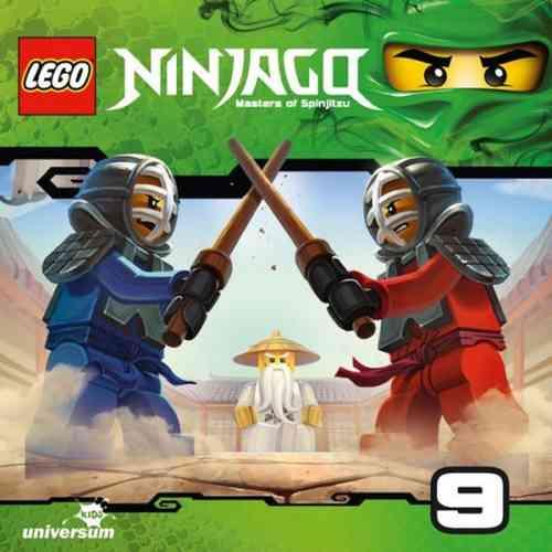 LEGO ® Ninjago Masters of Spinjitzu Hörspiel CD 009  9 Garmadons Maschine  Universum Kids NEU & OVP