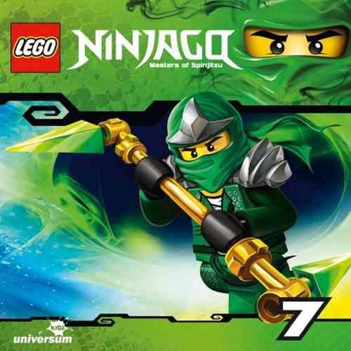 LEGO ® Ninjago Masters of Spinjitzu Hörspiel CD 007  7 Die Zeitreise  Universum Kids NEU & OVP