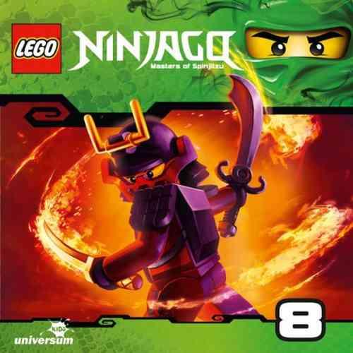 LEGO ® Ninjago Masters of Spinjitzu Hörspiel CD 008  8 Tempel des Lichts  Universum Kids NEU & OVP