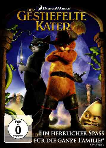 DVD Der gestiefelte Kater - Der Kinofilm von den Machern von Shreck  NEU & OVP