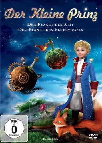 DVD Der kleine Prinz 01 1 Der Planet der Zeit + Der Planet des Feuervogels OVP & NEU
