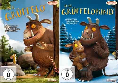 DVD Der Grüffelo Kinofilm 1 + 2 Das Grüffelokind  NEU & OVP