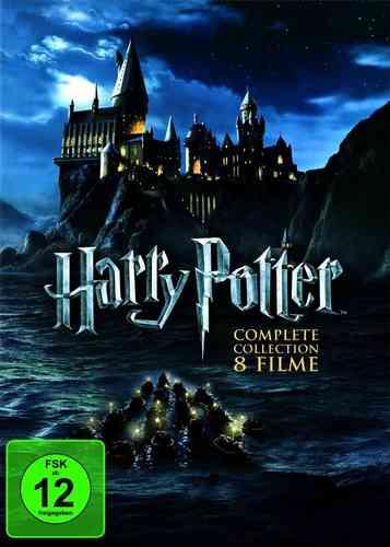 DVD Harry Potter Complete Collection komplett Box 1 2 3 4 5 6 7.1 7.2  8 x  Filme NEU