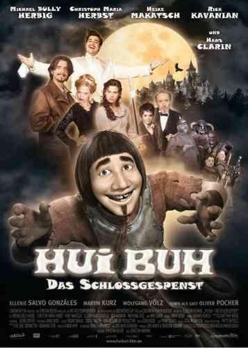 DVD Hui Buh, das Schlossgespenst  Hans Clarin + Michael Bully Herbig  NEU & OVP