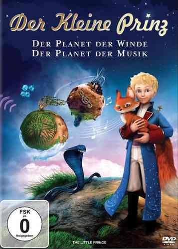DVD Der kleine Prinz 02 2 Der Planet der Musik + Der Planet der Winde  OVP & NEU