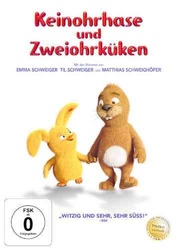 DVD Keinohrhase und Zweiohrküken  von Til Schweiger  NEU & OVP