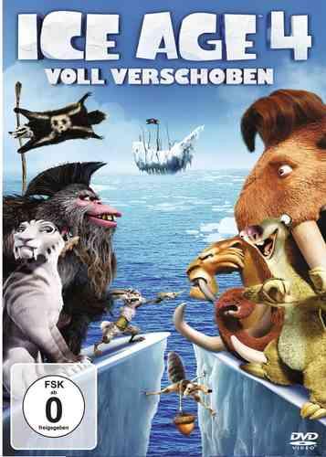 DVD Ice Age 4 IV - Voll Verschoben  NEU & OVP