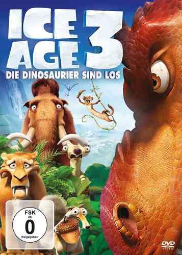 DVD Ice Age 3 III - Die Dinosaurier sind los   NEU & OVP