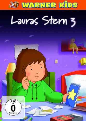 DVD Lauras Stern 3  TV-Serie mit 10 Episoden  NEU & OVP