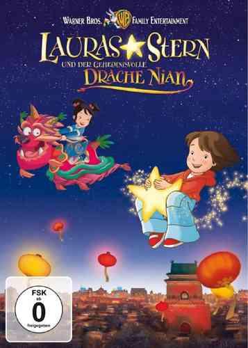 DVD Lauras Stern Kinofilm 2 - und der geheimnisvolle Drache Nian NEU & OVP
