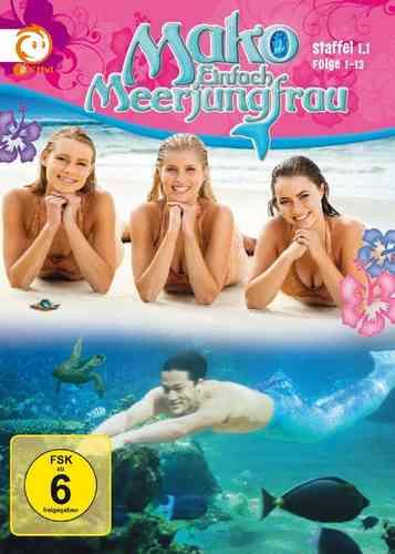 DVD Mako Einfach Meerjungfrau Staffel Season 1.1 Folge 1-13 TV-Serie Box  NEU & OVP