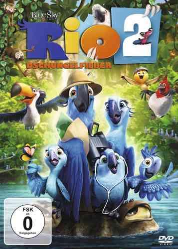 DVD Rio 2  von den Machern von Ice Age NEU & OVP