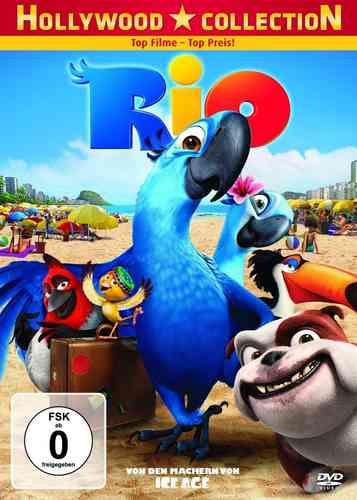 DVD Rio 1  von den Machern von Ice Age NEU & OVP