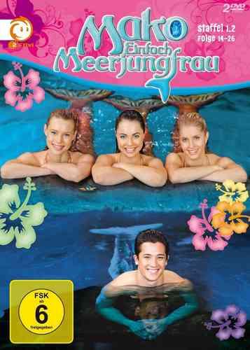 DVD Mako Einfach Meerjungfrau Staffel Season 1.2 Folge 14-26 TV-Serie Box  NEU & OVP