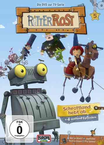 DVD Ritter Rost 05  5 - Schrottland hebt ab  zu TV-Serie 5 Episoden  NEU & OVP