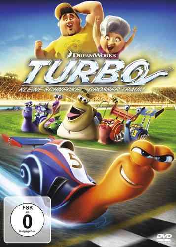 DVD Turbo - Kleine Schnecke, großer Traum  NEU & OVP