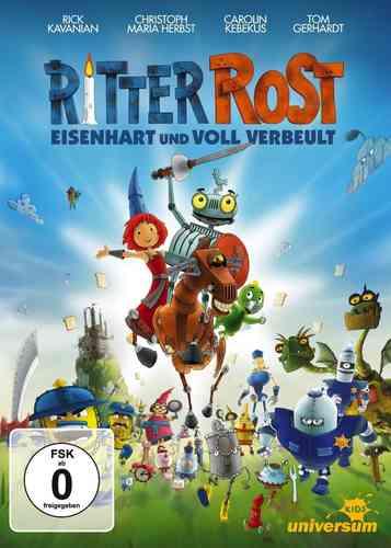 DVD Ritter Rost 1. Kinofilm - Eisenhart und voll verbeult  NEU & OVP