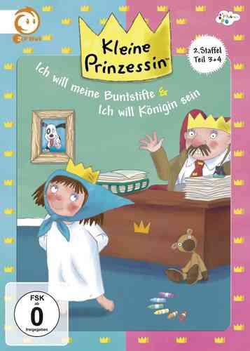 DVD Kleine Prinzessin - Box Staffel 2 Box 2 mit 2.3 + 2.4 TV-Serie 13-24 OVP & NEU