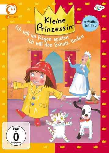 DVD Kleine Prinzessin - Box Staffel 2 Box 3 mit 2.5 + 2.6 TV-Serie 25-35 OVP NEU