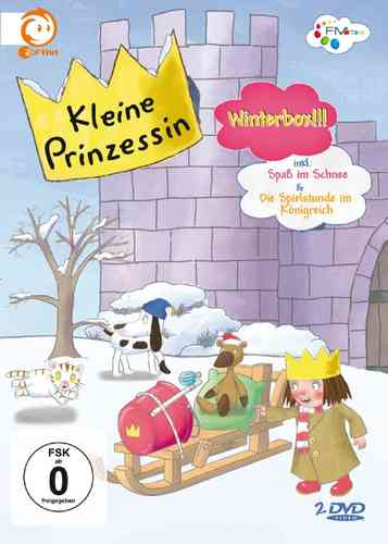 DVD Kleine Prinzessin - Winter Box  TV-Serie 10 Episoden 16-20 + 26-30 OVP & NEU
