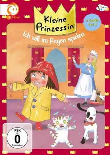 DVD Kleine Prinzessin - Box Staffel 2.5 will Regen spielen TV-Serie 25-30 OVP NEU