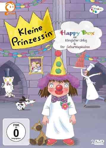 DVD Kleine Prinzessin - Happy Box  TV-Serie 10  Episoden 11-15 + 21-25 OVP & NEU