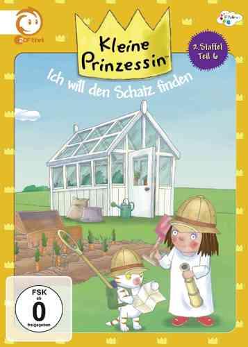 DVD Kleine Prinzessin - Box Staffel 2.6 den Schatz finden TV-Serie 31-35 OVP NEU