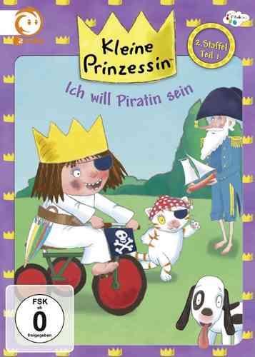 DVD Kleine Prinzessin - Box Staffel 2.1 will Piratin sein TV-Serie 01-06 OVP NEU