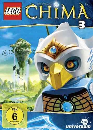 DVD LEGO ® Legends of Chima 03 3 TV-Serie Episoden 09-11 NEU & OVP