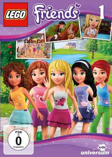 DVD LEGO ® Friends 01 1 I  TV-Serie Episode 01-03 NEU & OVP
