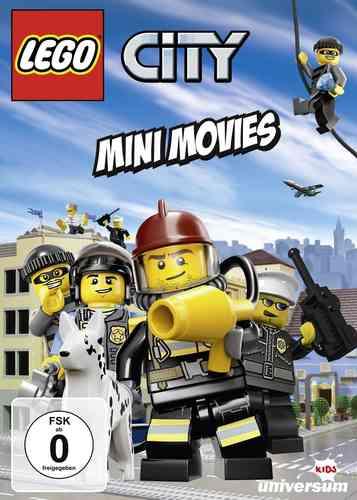 DVD LEGO ® City Mini Movies   NEU & OVP