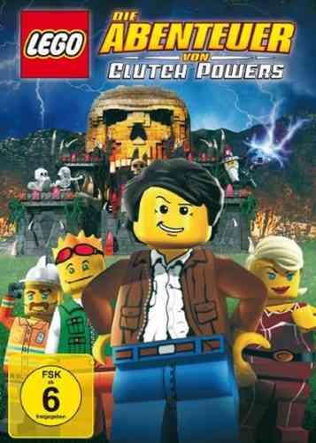 DVD LEGO ® Die Abenteuer von Clutch Powers  NEU & OVP