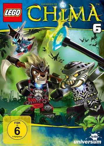 DVD LEGO ® Legends of Chima 06 6  TV-Serie Episoden 21-26 NEU & OVP