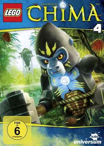 DVD LEGO ® Legends of Chima 04 4  TV-Serie Episoden 12-16 NEU & OVP