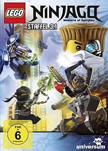 DVD LEGO ® Ninjago Masters of Spinjitzu Staffel 03 3.1 TV Serie Episoden 27-30 BOX NEU & OVP