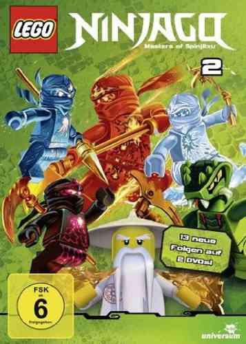 DVD LEGO ® Ninjago Masters of Spinjitzu Staffel 02 2 TV-Serie Episoden 14-26 BOX NEU & OVP