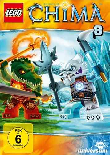 DVD LEGO ® Legends of Chima 08 8 TV-Serie Episoden 31-35 NEU & OVP