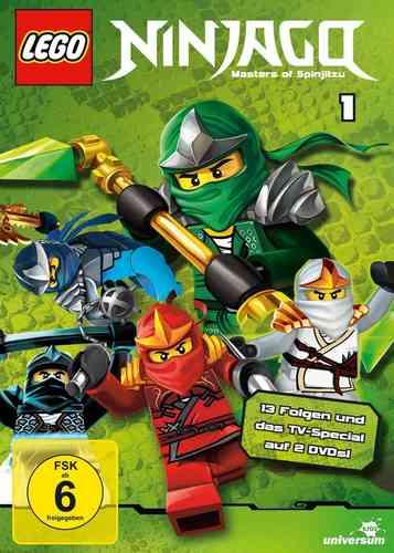 DVD LEGO ® Ninjago Masters of Spinjitzu Staffel 01 1 TV-Serie Episoden 01-13 BOX NEU & OVP