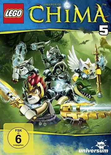 DVD LEGO ® Legends of Chima 05 5  TV-Serie Episoden 17-20 NEU & OVP