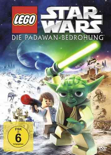 DVD LEGO ® Star Wars Die Padawan Bedrohung  NEU & OVP