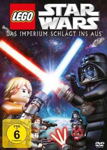 DVD LEGO ® Star Wars Das Imperium schlägt ins Aus NEU & OVP